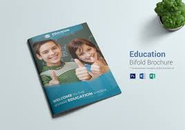 Education Brochure Templates Education Bi Fold Brochure Template