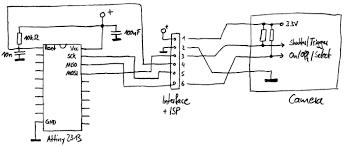 webworld of j p project catcamera using vistaquest vq1005 Usb Web Camera Wiring Diagram camera control circuit web camera wiring diagram