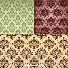 fl seamless pattern vintage backgrounds free vector