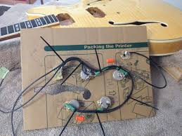 guitar kit builder 12 string 335 vintage 50s wiring harness 335 Wiring Harness at present i satisfied myself with a simple modification to the 50s vintage wiring scheme to allow the volume pots to operate independently 335 wiring harness custom