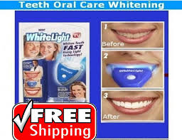 How To Use White Light Tooth Whitening System 50 Off Led Bleaching Teeth Whitening Shopeepie