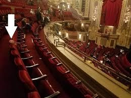 Nederlander Theatre Chicago Section Loge R Row B Seat
