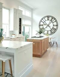 large black kitchen wall clocks pictures of