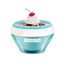 <b>Мороженица Ice Cream Maker</b>, голубая Zoku – интернет-магазин ...