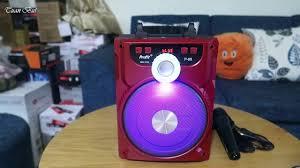 Khui Hộp Loa Karaoke Bluetooth P88 (Tặng Kèm Mic) - YouTube