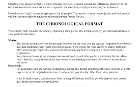How To Build A Great Resume 8 Example Of A Great Resume Self