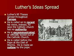 the protestant reformation applied world history ppt  luther s ideas sp luther s 95 theses sp throughout europe