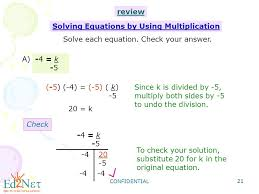 confidential 21 solve each equation check your answer