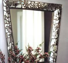 mosaic mirror frame diy