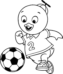 Small Picture The Backyardigans Coloring Page Wecoloringpage