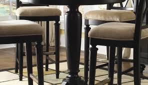 outdoor white chairs table lacquer dining evie round bar and style height small marble pub ana