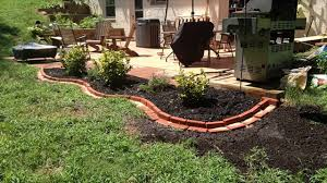 garden brick edging ideas