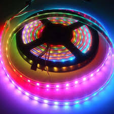 Addressable Led String Lights Roll Of 300 Pieces Ws2812b Rgb Addressable Led Smd 5050 In