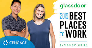 boston december 5 2018 cengage has been named a best place to work in 2019 by glassdoor one of the world s largest job and recruiting sites