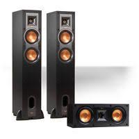 klipsch ws 24. klipsch r24f reference floorstanding speaker pair w/ r25c center (black) ws 24