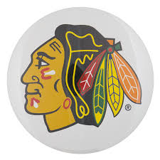 Chicago Blackhawks Logo | Busy Beaver Button Museum