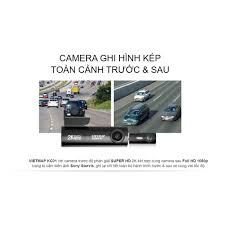 Camera hành trình Vietmap KC01 Tặng kèm thẻ nhớ 128GB/64GB/32GB, Ghi hình  trước SUPER HD(2K) - Sau FULL HD1080P - Máy quay phim