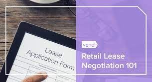 to negotiate a favorable retail lease