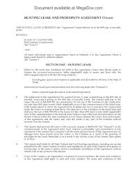Hunting Lease Agreement Texas Hunting Lease Agreement Legal Forms And Business Templates 8
