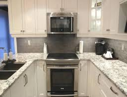 honed black granite countertops bellingham quartz white cabinets backsplash ideas