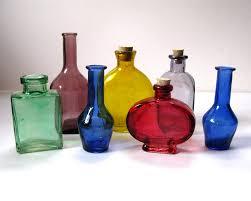 Decorative Colored Glass Bottles Decorative Glass Bottles Instadecorus 79