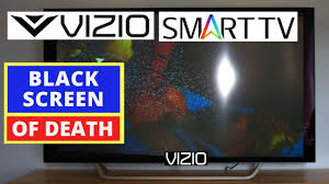How To Fix Black Light On Tv How To Fix Vizio Tv Black Screen Problem How To Fix Vizio Tv Black Screen Of Death