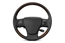 wood grip steering wheel