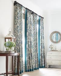 jcpenney window shades. Tan And Blue Floral Patterned Curtains Jcpenney Window Shades L