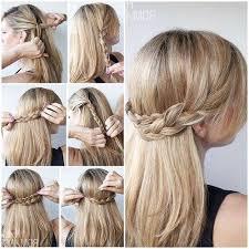 Image Tuto Coiffure Mariage Simple Coupe De Cheveux Femme