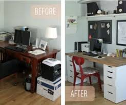 finished office makeover. Belkin\u0027s Modern Office Interior Design · Simple Ikea Makeover Finished B
