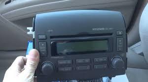 Alpine CDE-133BT Installed in a 2007 Hyundai Sonata Bluetooth and ...