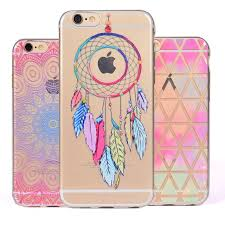 Dream Catcher Case Iphone 7 Plus For iphone 100s Plus Case Silicone Cover Luxury Dream Catcher Soft 22
