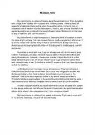my dream house essay lined writing paper for kindergarten my dream house essay descriptive essay my dream house descriptive essay