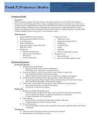 Medical Device Resume Examples] Sample Resumes Medical Device .