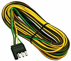 v trailer wiring page  wesbar 707261 wishbone style trailer wiring harness 4 flat