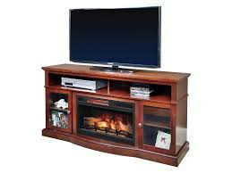 com chimneyfree walker cherry electric fireplace entertainment center 25mm5326 c245 kitchen dining
