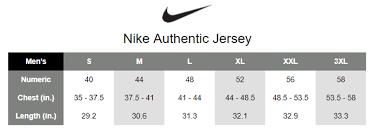 Nike Youth Swingman Jersey Size Chart Nike Nba Jersey Size Chart Www Bedowntowndaytona Com