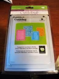 cricut cuttlebug 4 embossing folders wall decor more bundle 2000409