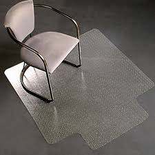 pvc home office chair floor. PVC Home Office Chair Floor Mat Studded Back With Lip For Standard Pile Carpet Pvc