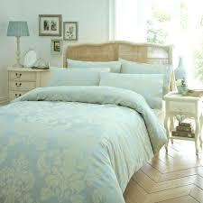 full image for innovative ivory duvet cover set fl jacquard duck blue green paisley ikea navy