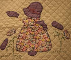 quilting   Minnesota Prairie Roots & This block from the 1930s Sunbonnet Sue pattern features quilting and  embroidery. Adamdwight.com