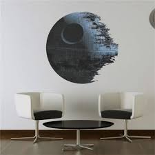 star wars removable wall stickers kids boy room decal wallpaper mural art