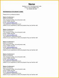 References On A Resume How To Write A Reference Page For Resume Job Personal Create List 46