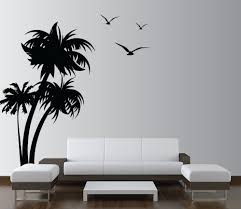 vinyl wall decals palm coconut tree