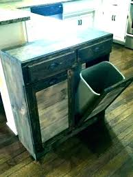 double trash bin cabinet double wooden trash bin double wood trash bin double trash bin cabinet double trash bin
