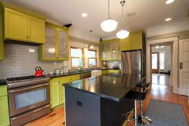 How To Paint Kitchen Cabinets Kitchen Eclectic With Area Rug Beige Painted  | Beeyoutifullife.com Photo Gallery