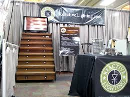 led stair lighting system reactive lighting