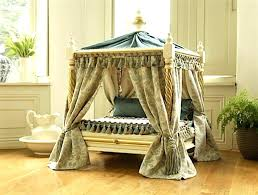 Canopy Pet Beds Fancy Pet Canopy Bed With Pet Canopy Bed Outdoor ...