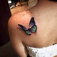 татуировка бабочка легкие и нежные эскизы для девушек