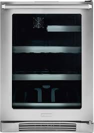 Undercounter Beverage Refrigerator Glass Door Electrolux Ei24bc10qs 24 Inch Undercounter Beverage Center With 2